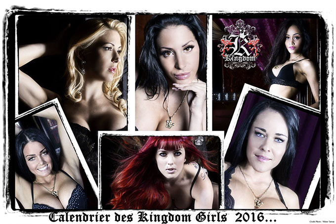 Calendrier 2016 KINGDOM Girls